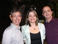 Andr� Marinho,Ticiana Ribeiro e Silvio Mauro
