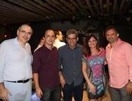 Dummar Neto, Silvio Mauro, Silvio Menezes, Alessandra Souza e Joc�lio Leal