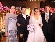 Fl�via Sim�es, Pedro Garcia, Carla Laprovitera e Daniel Sim�es