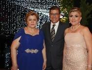 Lucila, Paulo C�sar e Simone Nor�es