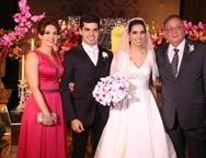Luiza Alice, Pedro Garcia, Carla Laprovitera e Alberto Machado