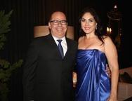M�rcio Menezes e Isabella Fi�za