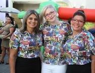 Eudes Alexandre, Melina Barbosa e Dora Batista