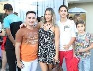 J�nior Noronha, �rica Kelle, Paulo Bezerra e Pedro Erick