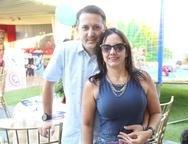 Marcelo e Juliana Veras