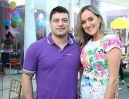Rafael Vernaglia e Juliana Uch�a
