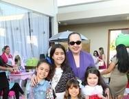 Sara, Eduarda, Gabriela, Lu�za e T�nia Leit�o