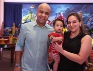 Vald�nio Lemos, Bernardo e Cintia Evangelista