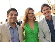 Diego Bonfim, Jussara Castro e João Marcos