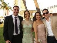 Germano, Ana Márcia, Carla e Pedro Coelho