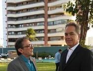 José Wellington e Luís Eduardo Fiuza