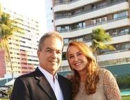 Luís Eduardo e Ivone Fiuza