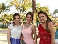 Raquel Timbó, Luana Mendes e Gorete Menezes