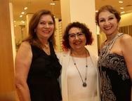 Celina Caminha, Ana Georgina e Fátima Oliveira