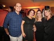 Anchieta J�nior, Cida Parente, Luizianne Lins e Lanna Roriz