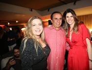 Luizianne Lins, Gaud�ncio Lucena e Andr�a Reis
