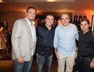 Adriano Nogueira, Ricardo Bezerra, Jo�o Dummar Neto e Pompeu Vasconcelos