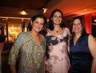 Cecilia Seligman, Raquel Miranda e Luciana Bezerra