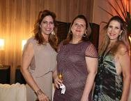 Cristiane Lopes, Annia Freire e Marjorie Marshall