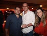 David Feitosa, Celio e Carolina Gurgel