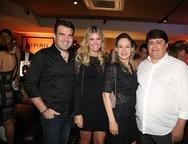 Danilo e Patr�cia Dias, �rica Marcan e George Lima