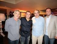 Edson Barbosa, Ricardo Bezerra, Jo�o Dummar Neto e Adriano Nogueira