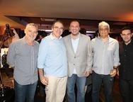 Edson Barbosa, Jo�o Dummar Neto, Adriano Nogueira, Cliff Villar e Clovis Holanda