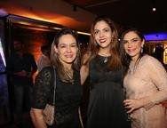 �rica Marcan, Ana Fl�via Torquato e Fabiana Coretti