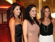 Michele Barros, Luciana Fiuza e Priscilla Afio