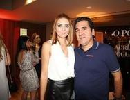 Juliana Marques e J�nior Neves