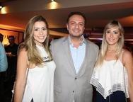 Raquel Fernandes, Adriano Nogueira e Natalia Lacerda