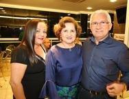 Josi Alves, Auricélia Queirós e Jacson Alves