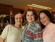 Ana Paula, Auricélia Queirós e Rosita Alves