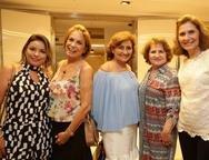 Michele Marlene, Regina Auricélia e Eloísa Lourinho