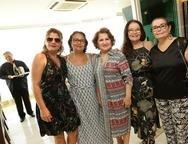 Maria Elza, Fabiola, Auricélia Queirós, Fátima e Ana Lurdes Lourinho