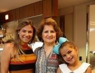 Vanessa, Auricélia e Natália Queirós