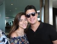 Ana Wilka e Bruno Lima