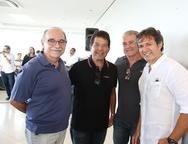 Ednilton Soarez, Deib Otoch, Celio Tomaz e Aderaldo Silva