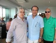 Francisco de Matos, Claudio Brasil e Ronaldo Aguiar