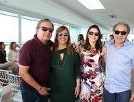 Francisco e Eveline Monteiro, Isabelle e Wilson Meireles