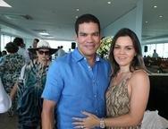 Kaka e Catarine Queiroz