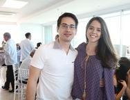 Tiago Alves e Larissa Rangel