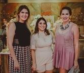 Karina Jalles, Natсlia Teixeira e Amanda Viana