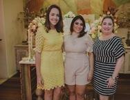PatrЁcia Sampaio , Natсlia Teixeira e Mirella Bessa
