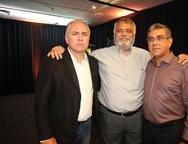 Adelson Cardoso, Geovane Santos e Rodolfo Ribeiro