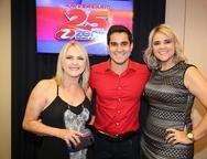 Fatima Nobre, Emerson Oliveira  e Ana Raquel
