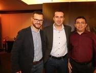 Renan Capuani, Fernando Matuela e Giudmar Cavalcante