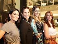 Aline Pinho, Carolina Ary, Rebeca Bastos e Márcia Andrea