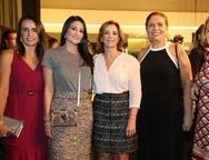 Carla Beyde, Aline Pinho, Fernanda Matoso, Ana Dauria Chaves e Monica Miranda