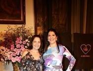 Giana Studart e Elisa Oliveira